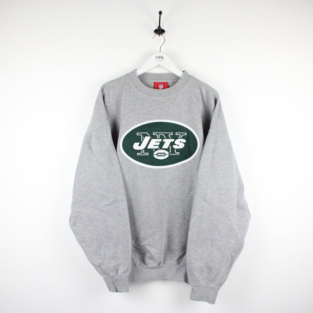 Vintage NFL New York JETS Sweatshirt | XXL