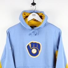 Load image into Gallery viewer, MLB MAJESTIC Milwaukee BREWERS Hoodie | XS