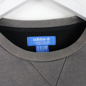 ADIDAS Sweatshirt Grey | Medium