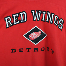 Load image into Gallery viewer, Vintage LEE Detroit Red Wings T-Shirt Red | XL