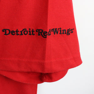 Vintage LEE Detroit Red Wings T-Shirt Red | XL