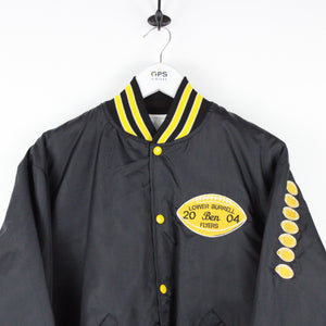 FLYERS Varsity Jacket Black | Medium