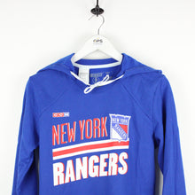 Load image into Gallery viewer, Womens CCM New York RANGERS Hoodie | Medium
