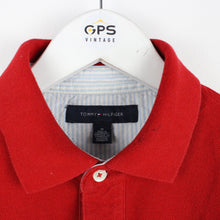 Load image into Gallery viewer, TOMMY HILFIGER Polo Shirt Red | Medium