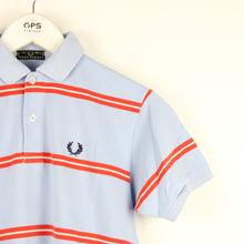 Load image into Gallery viewer, Womens FRED PERRY Polo Shirt Blue | XS