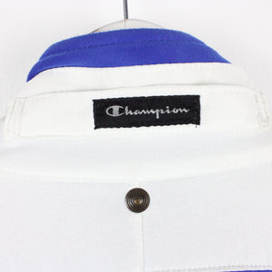 Vintage CHAMPION Track Top Blue | Large