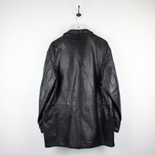 Load image into Gallery viewer, Vintage 90s GIORGIO ARMANI Coat Black | XL