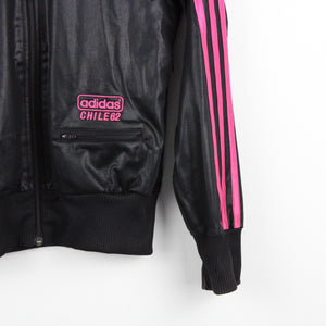 Womens ADIDAS Track Top Black | XS