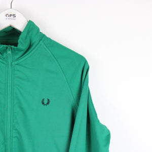 FRED PERRY Track Top Green | Small