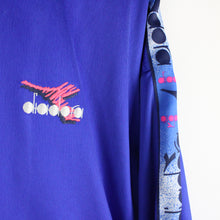 Load image into Gallery viewer, Vintage 90s DIADORA Track Top Blue | XL