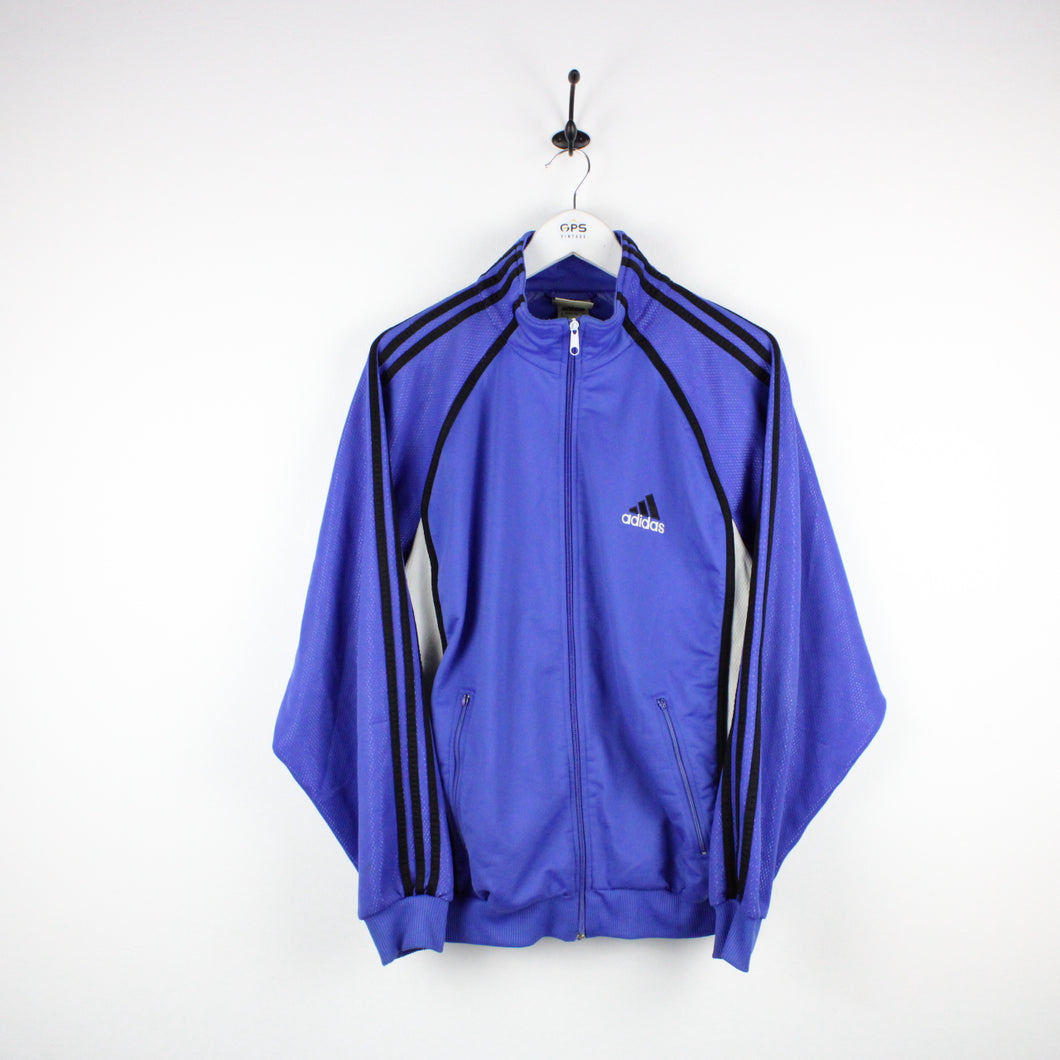 Vintage 90s ADIDAS Track Top Blue | Large