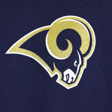 Load image into Gallery viewer, Womens REEBOK LA RAMS T-Shirt Navy Blue | Small