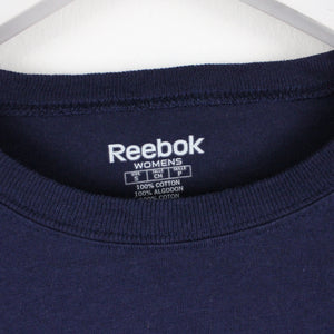 Womens REEBOK LA RAMS T-Shirt Navy Blue | Small