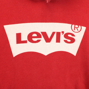 LEVIS Hoodie Red | Small