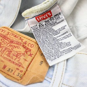 LEVIS 501 Jeans Light Blue | W33 L28