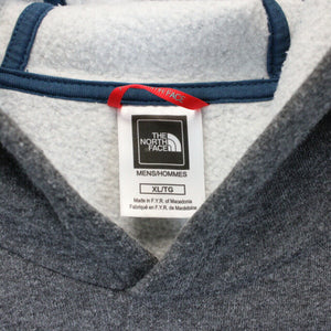 NORTH FACE Hoodie Grey | XL