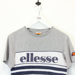 Womens ELLESSE T-Shirt Grey | XS