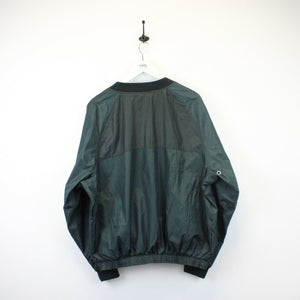 NIKE 90s Jacket Green | Large