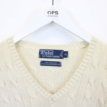 Load image into Gallery viewer, RALPH LAUREN Knit Sweatshirt Cream | Large