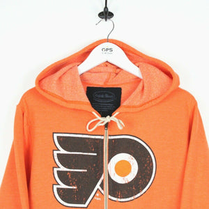 MAJESTIC Philadephia FLYERS Hoodie Orange | Large