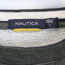 Load image into Gallery viewer, NAUTICA Sweatshirt Green | Large