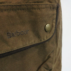 Womens BARBOUR Utility Waxed Jacket Brown | Small