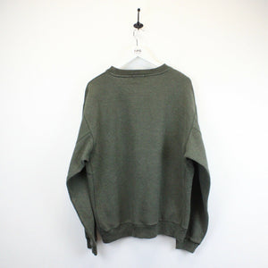 NAUTICA Sweatshirt Green | Large