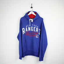 Load image into Gallery viewer, Vintage New York RANGERS Hoodie Blue | XXL