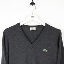 Load image into Gallery viewer, LACOSTE Knit Sweatshirt Grey | Medium