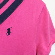 Load image into Gallery viewer, Womens RALPH LAUREN Knit T-Shirt Pink | Medium