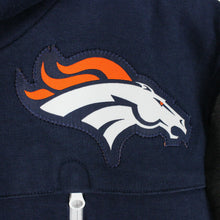Load image into Gallery viewer, NIKE Denver BRONCOS Hoodie Navy Blue | XS