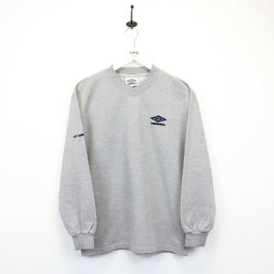 UMBRO 90s Sweatshirt Grey | Small