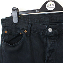 Load image into Gallery viewer, LEVIS 501 Jeans Black | W35 L34