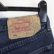Load image into Gallery viewer, LEVIS 501 Jeans Black Charcoal | W30 L34