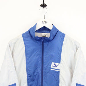 Vintage 90s PUMA Track Top Blue | Medium