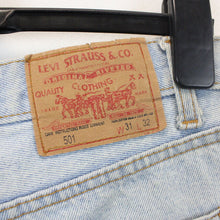Load image into Gallery viewer, LEVIS 501 Jeans Light Blue | W31 L32