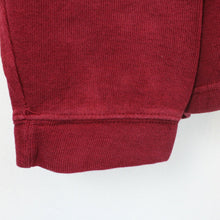 Load image into Gallery viewer, CHAPS 1/4 Zip Knit Sweatshirt Red | XL