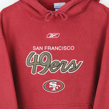 Load image into Gallery viewer, Vintage NFL REEBOK San Francisco 49ers Hoodie Red | Large