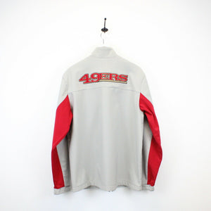 NFL San Francisco 49ers Jacket Grey | Large