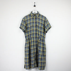 Womens 90s BURBERRYS Check Dress | Large