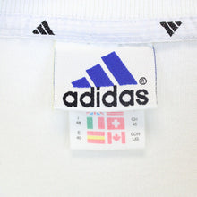 Load image into Gallery viewer, Womens ADIDAS 90s 1/4 Zip Sweatshirt White | Medium