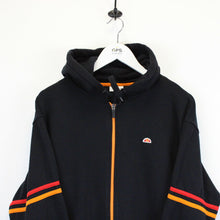 Load image into Gallery viewer, Vintage ELLESSE Hoodie Black | Large