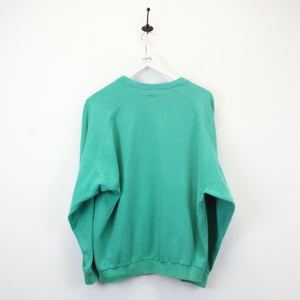 ADIDAS 80s Sweatshirt Green | Large