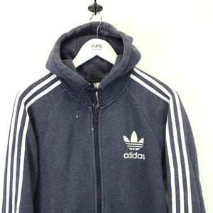 ADIDAS Hoodie Navy Blue | Small