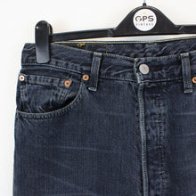 Load image into Gallery viewer, LEVIS 501 Jeans Black Charcoal | W32 L34