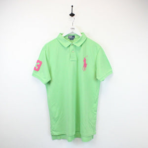 RALPH LAUREN Polo Shirt Green | Large