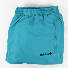 Load image into Gallery viewer, Vintage 80s ADIDAS Joggers Green | Medium