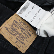 Load image into Gallery viewer, LEVIS 618 Jeans Black | W34 L32