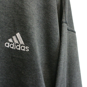 ADIDAS 90s Sweatshirt Grey | Large