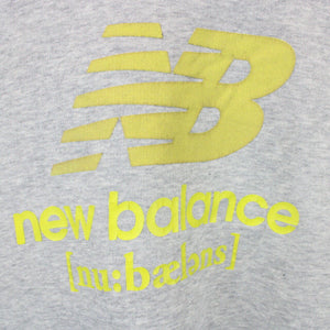 Womens NEW BALANCE Sweatshirt Grey | XL